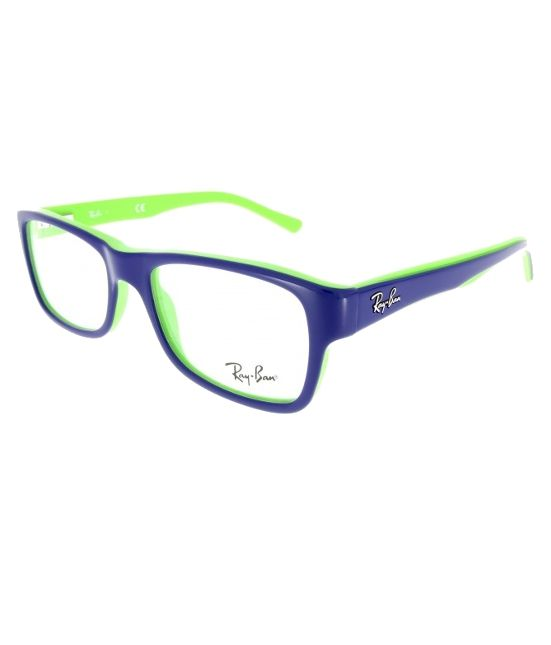 ray ban brille blau orange