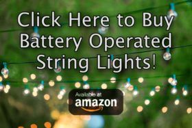 Battery operated string lights is the best place to find a collection of outdoor led lights as well as many other types of festive and beautiful lights for sale.