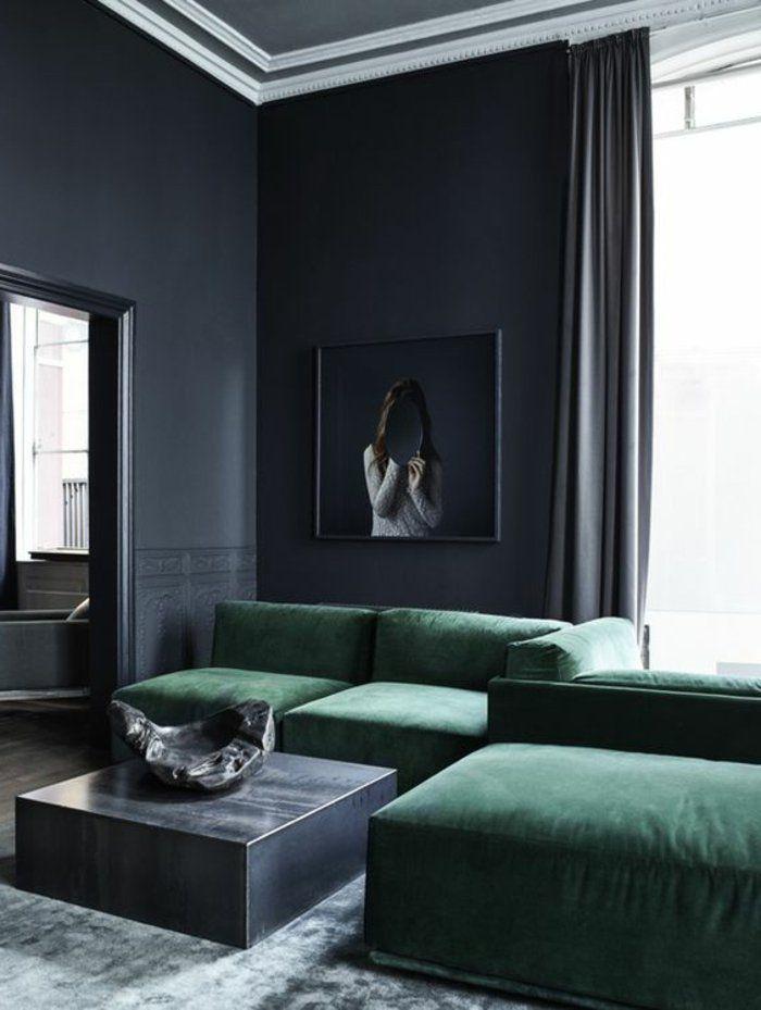 Die besten 25+ Graue vorhänge Ideen auf Pinterest Grau vorhänge - wohnzimmer petrol grau