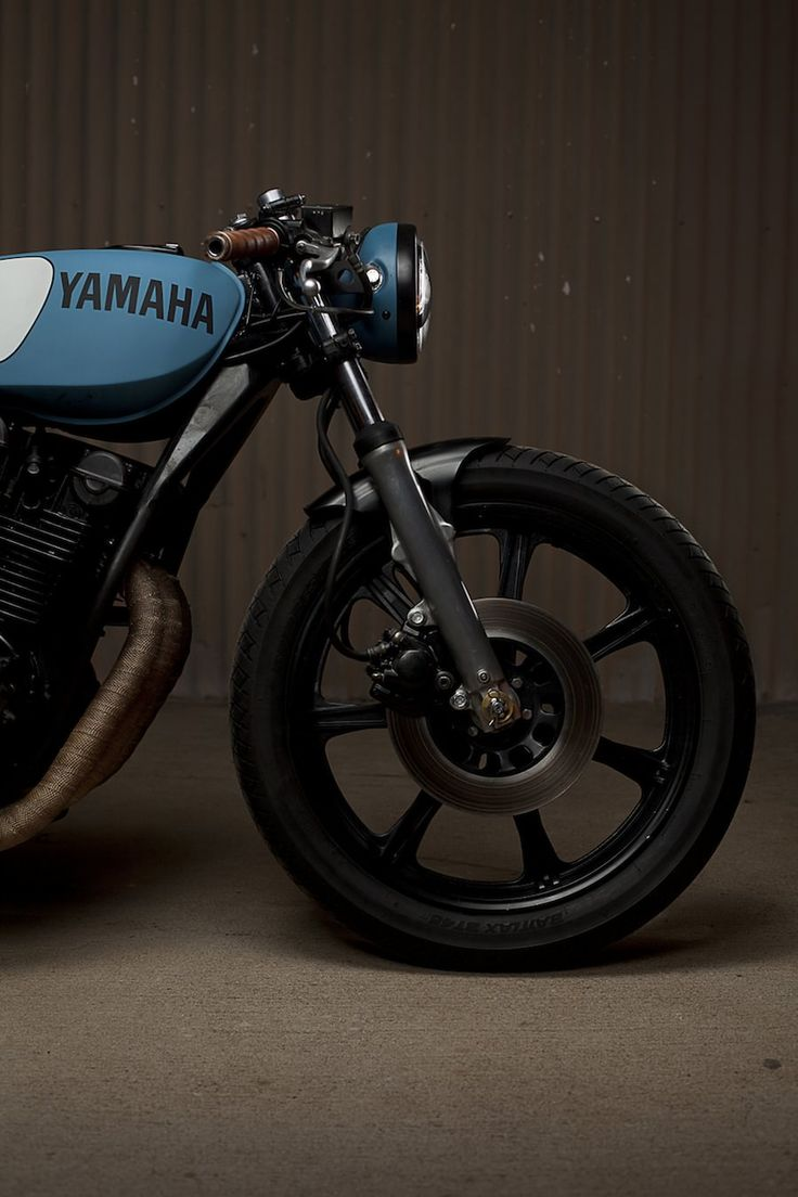 Yamaha XS750 Cafe Racer by Ugly Motorbikes - Odd choice for a custom, but damn, this is a fine looking bike.