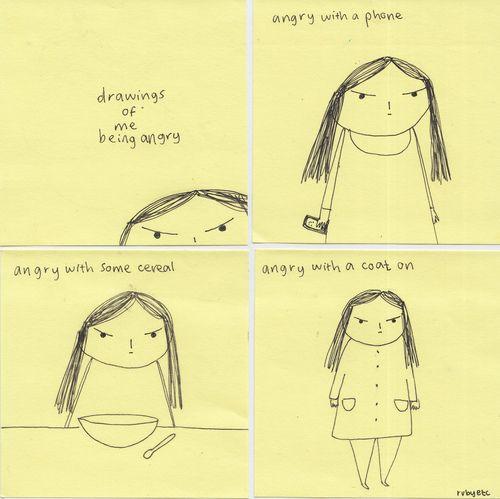 angry, girl, and funny image