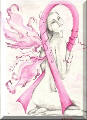awareness faerie breast cancer fairy