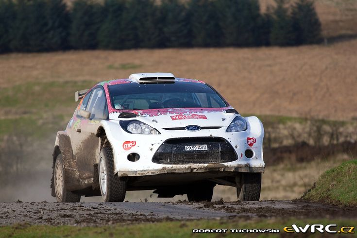 2011 Wales: Karl Kruuda, Ford Fiesta S2000, 28th