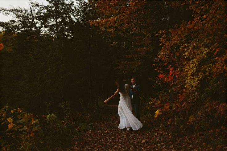 Joel Bedford Photography; Carbide Mill Engagement Photos Gatineau Hills;