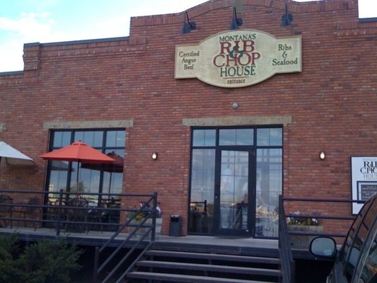 Montana's Rib & Chop House in Livingston, MT ~ Best babyback ribs ever! Chop House Caesar is one of our favorites also!