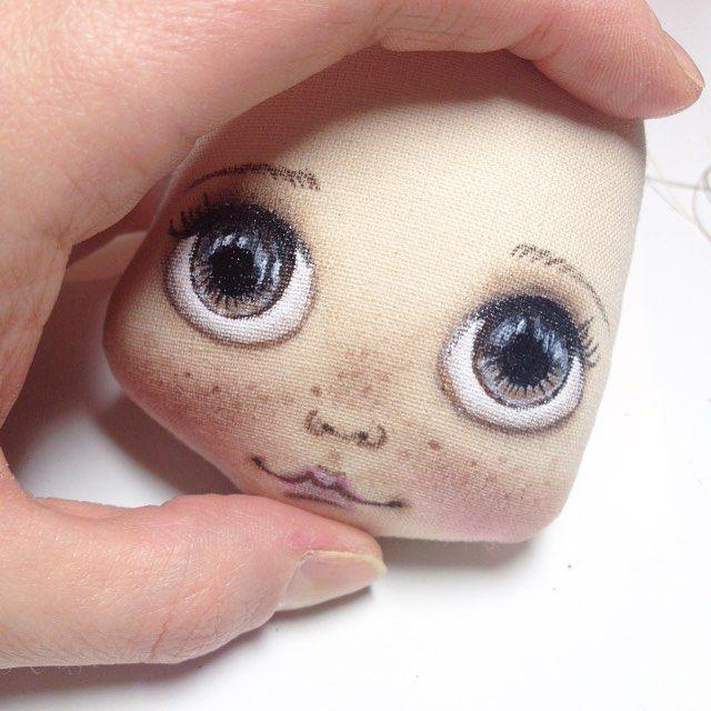 А такие глазки у моих кукол нравятся? Или лучше другие? #кукла #куклы #куколка…