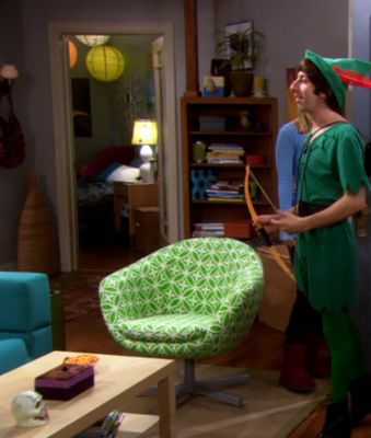 Penny S Chair Big Bang Theory Skruvsta Swivel Chair From