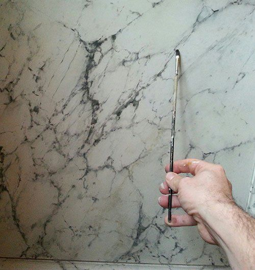 300 best faux marble wood images on pinterest for Faux marble painting techniques