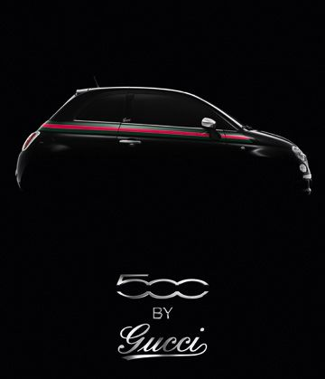 The new Gucci Edition Fiat!  Too Bad it's not available in the US.  Sniff!  Sniff!