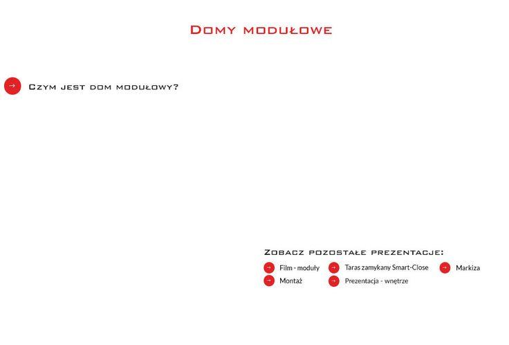 Domy Modułowe SmartMod. Domki letniskowe, holenderskie drewniane, stróżówka.