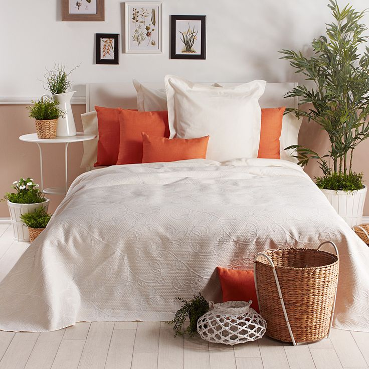 Colcha piqu decorativa monclova blanca el modelo monclova - Colchas de cama ikea ...