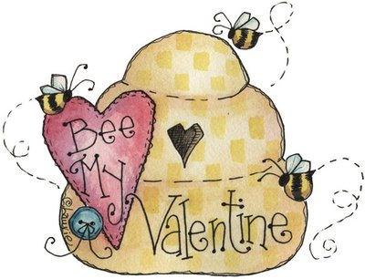 """""""Bee"""" my valentine"""