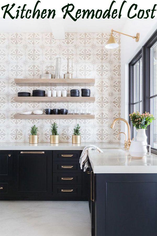 5 Step To Find Average Kitchen Remodel Cost Kitchen Design