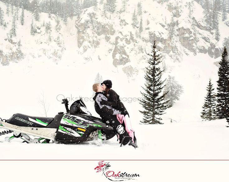 Snowmobile engagement