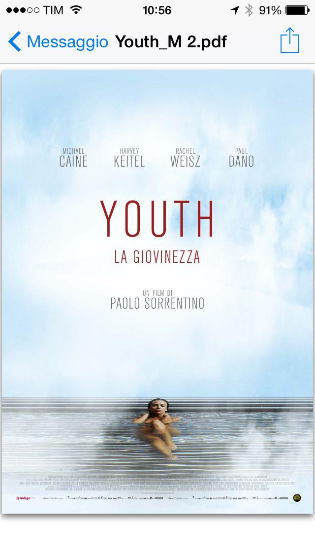 Youth la giovinezza - Paolo Sorrentino Una delle proposte presentate da Internozero comunicazione
