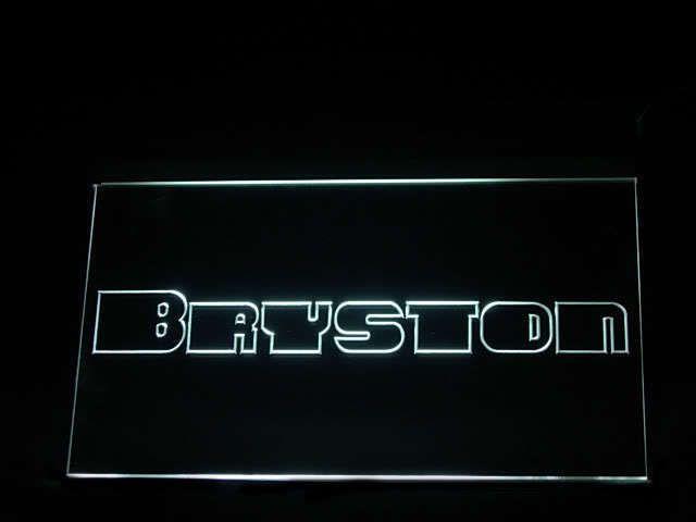 Bryston Audio LED Light Sign www.shacksign.com