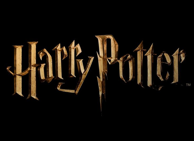 The Harry Potter logo was first used for the American edition of the novel series (and some other editions worldwide), and then the film series.