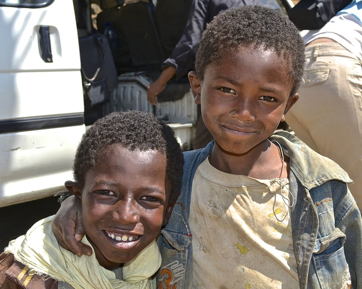 Boys need clean water and access to sanitation facilities in their own communities.