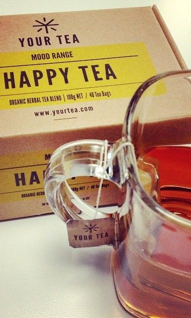 Happy Tea by @YourTea is developed to awaken the body's senses and leave you feeling - FABULOUS!