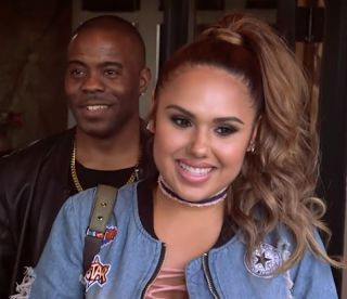"Adonis - Growing Up Hip Hop Kristinia DeBarge  Kristinia DeBarge has an interesting relationship with her producer Adonis Shropshire. In episode 5 of Growing Up Hip Hop's third season ""Mo Money Mo Problems"" Kristinia meets with Sandra ""Pepa"" Denton. They discuss Pepa's book but Pepa really wants to talk to her about Adonis. Pepa's daughter Egypt told her about Kristinia's relationship with Adonis.  Pepa is a veteran in the music industry so Kristinia should listen to her advice. Pepa asks…"