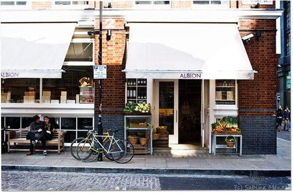 The Albion Café in Shoreditch in #london - @buzzispace #100design