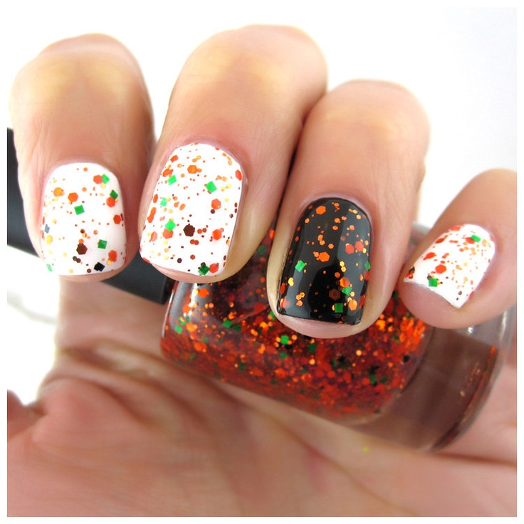 Nail Colors Halloween: Orange, Green, Halloween Nail Polish