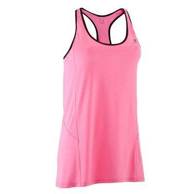 19,99 Odziez damska fitness Fitness, Taniec, Gimnastyka - Koszulka bez rękawów BREATHE+ DOMYOS - Odzież fitness