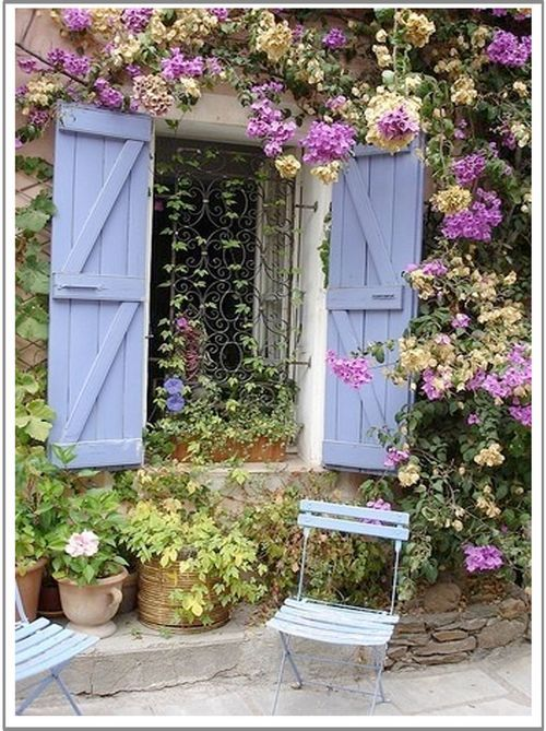 New sewing theme french country garden my house inspirations pinterest french country - French style gardens ...