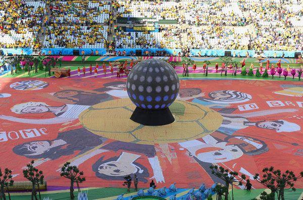 Mundial Brasil 2014: Sigue la ceremonia de inauguración de la Copa del Mundo, en directo