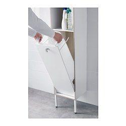 IKEA - TYNGEN, Kast voor wasgoed, , Zeer geschikt voor iedereen met een kleine badkamer omdat de kastelementen slechts 30 cm breed zijn.Stelbare poten geven stabiliteit en beschermen tegen optrekkend vocht.