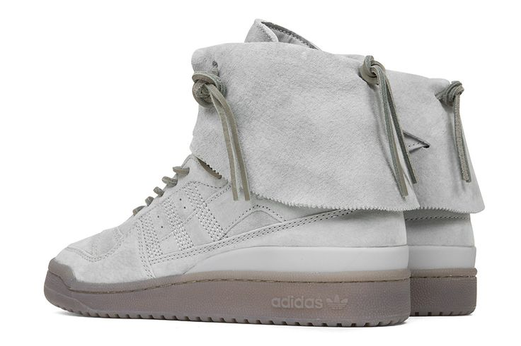 A modern take on a basketball staple, The Forum Hi Moc features Adidas' signature three stripes stitched on the side panels with its original midsole and outsol