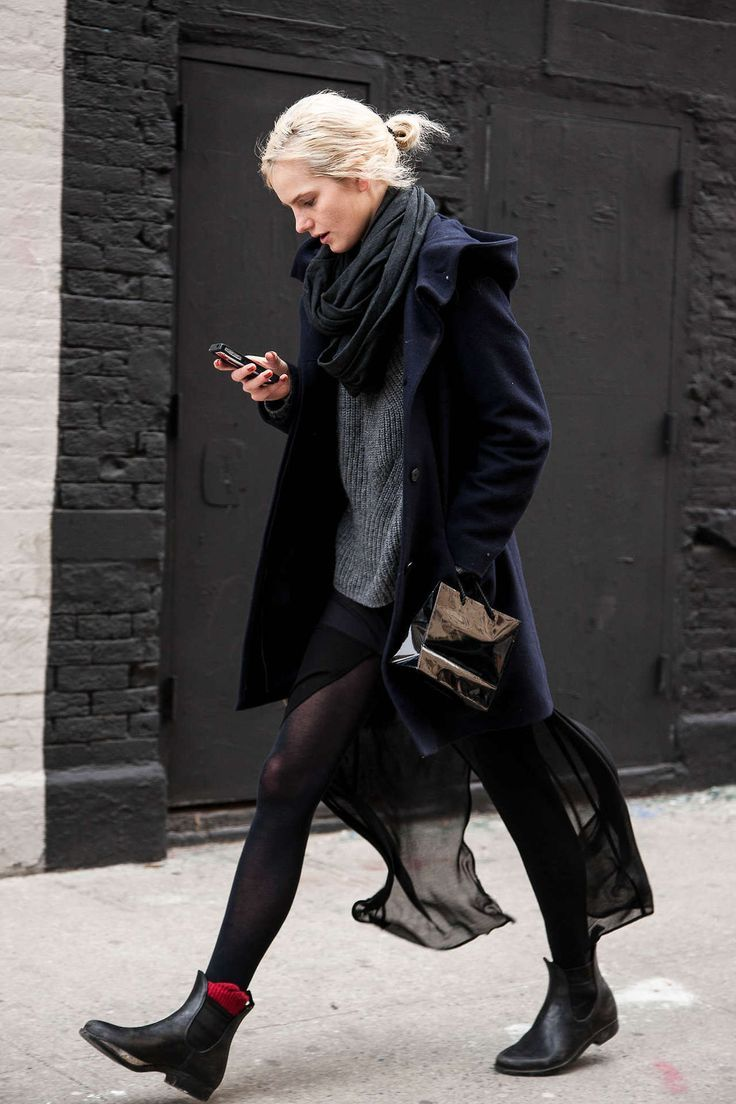 To χειμωνιάτικο street style του Λονδίνου