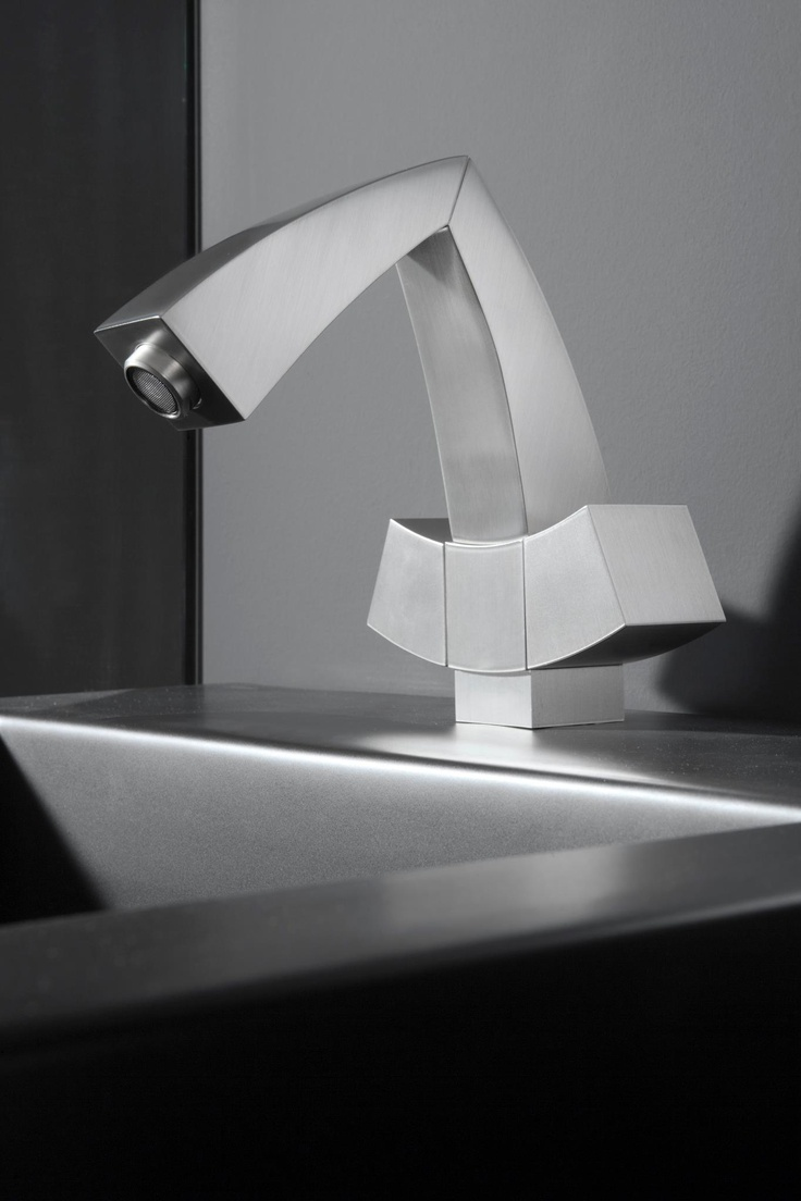Lamp graff bathroom faucets - A Modern Masterpiece Of Geometric Design The Fontaine Looks Distinctive From Any Angle