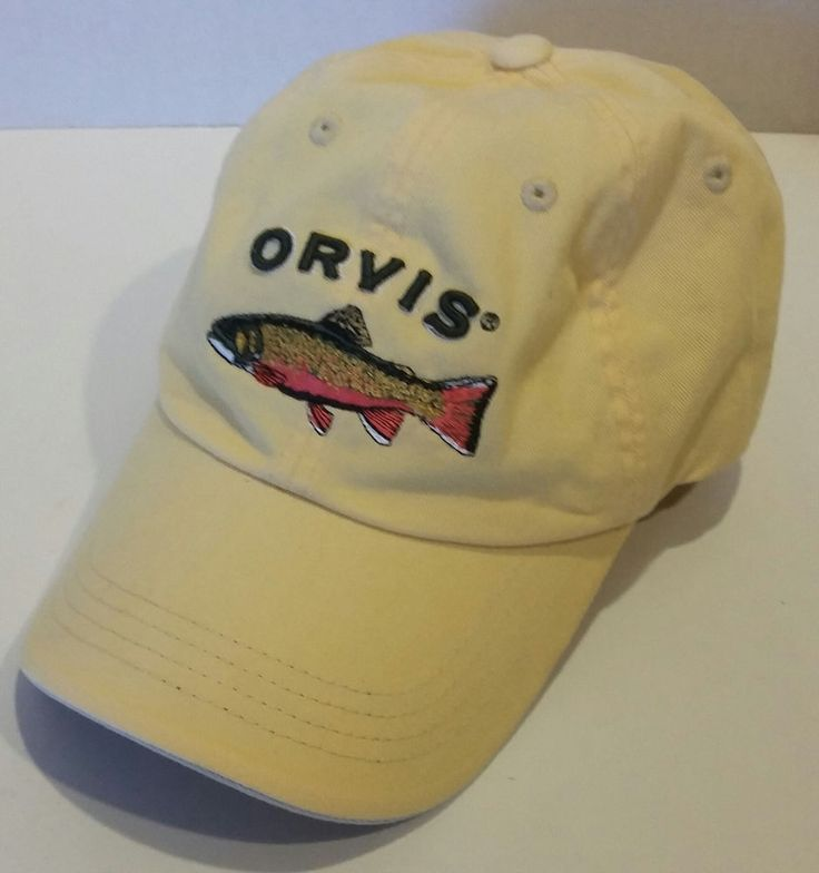 132 best hats r us images on pinterest baseball cap for Trout fishing hats