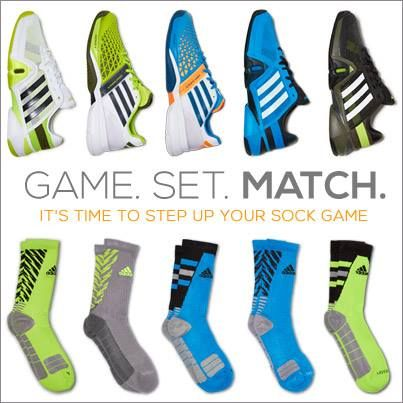It's time to step up your sock game with new #adidas shoes and colors!