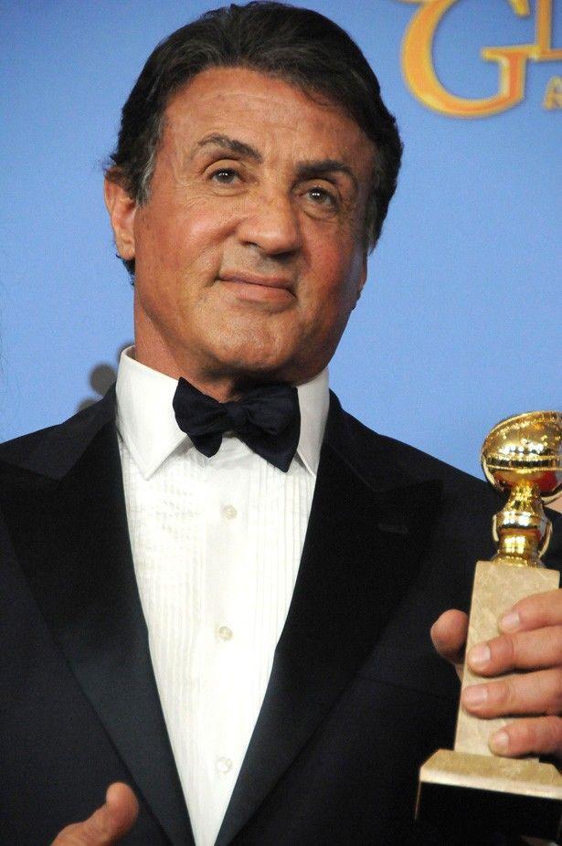 「クリード チャンプを継ぐ男」でゴールデン・グローブ賞の助演男優賞を受賞したシルベスター・スタローン
