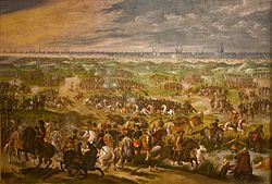 NTK 4- The 30 Years War was a war fought in the early 1600s between newly formed protestant powers like England and France and old Catholic powers like Spain and the Holy Roman Empire. It lasted 30 years and saw Ottoman and Cossack intervention on the side of the Protestants because the Ottomans and Cossacks hated the Catholics just as much as the Protestants.