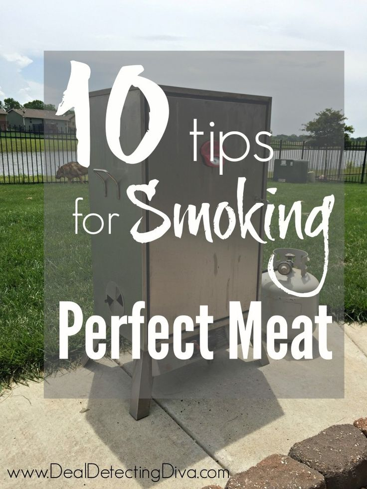 Love that smoked meat flavor? You'll want to check out our top TEN tips to smoking the perfect meat. From temperatures to times and other tips and tricks!