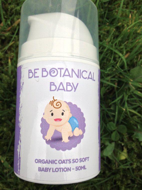 Be Botanical   Organic Oats so soft Baby Lotion by BeBotanical