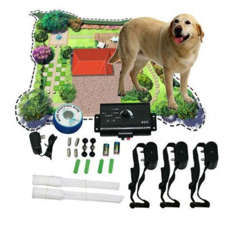 Underground-Electric-Dog-Collar-Fence-System-Petsafe-Shock-3-Dogs-Training-Small