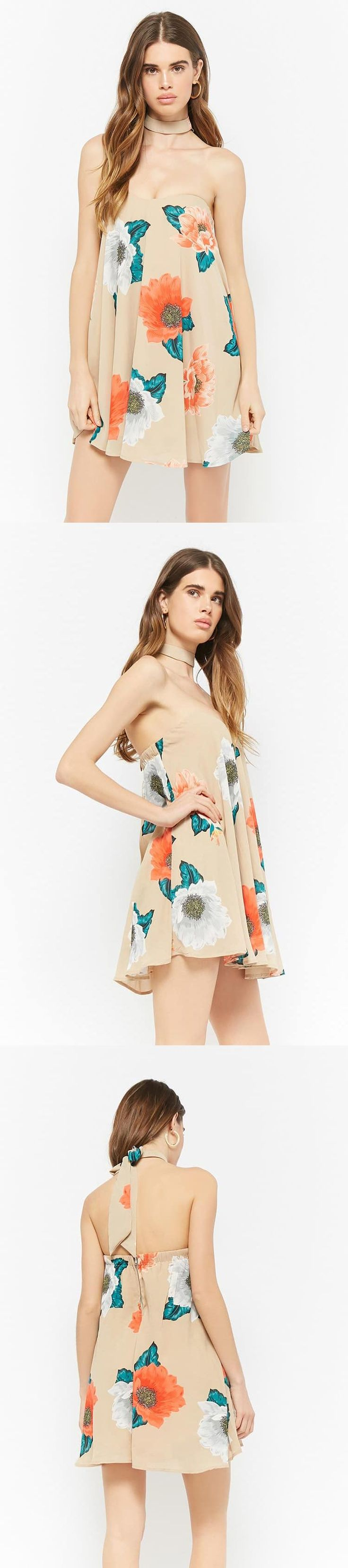 Selfie Leslie Floral Tube Dress // 58.00 USD // Forever 21