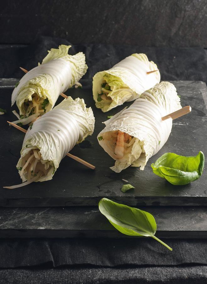 Φρέσκα spring rolls