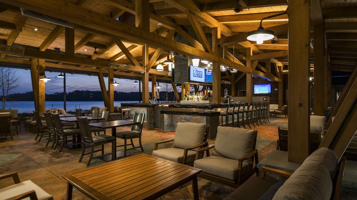 Disney World Food and Restaurants | Opening today at Disney's Wilderness Lodge is the new Geyser Point Bar & Grill, where guests can grab a bite as they enjoy the resort's rustic beauty.