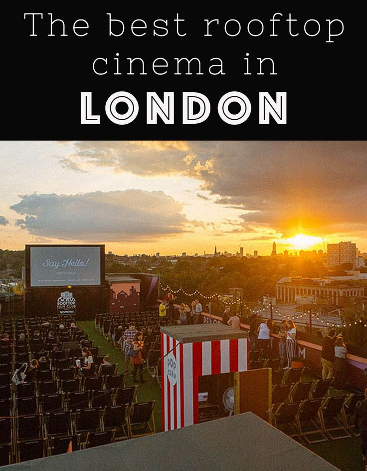 The best rooftop cinema in London | Bridges and Balloons