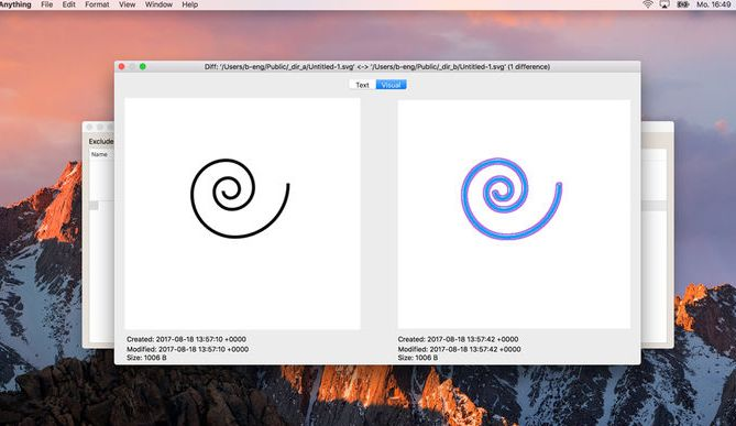 Compare Anything 1.0 is new file comparison tool for macOS