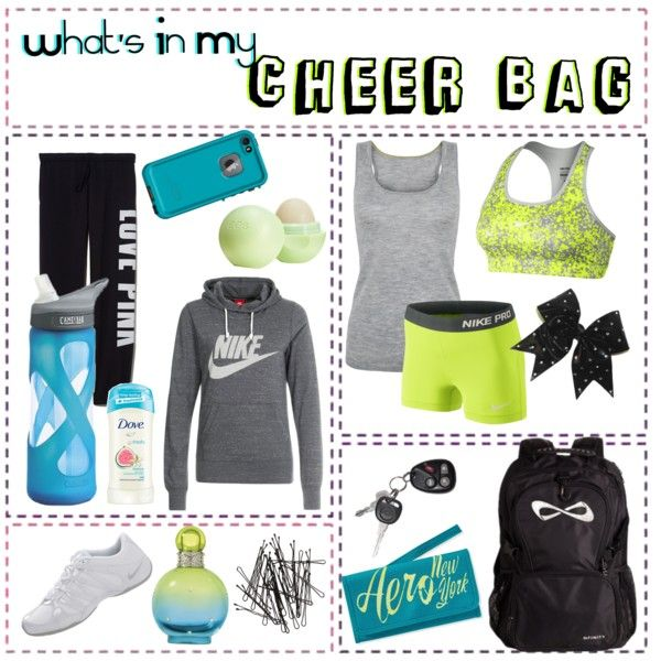 What's In My Cheer Bag