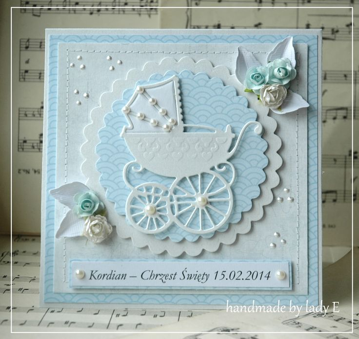 25+ best ideas about Handmade christening cards on ...