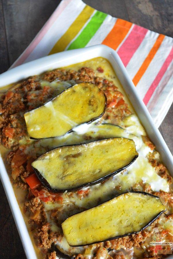 La recette allégée de la moussaka sans béchamel idéale pour garder la ligne ! - Moussaka légère - Lolibox - Recettes de cuisine