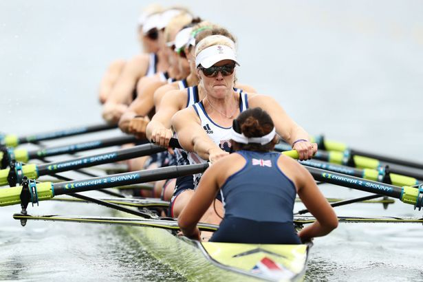 Team GB win rowing silver in women's eight at Rio 2016