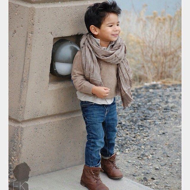 Stylish Boy Bohemian Style Type